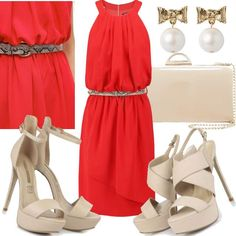 Lady Rouge #fashion #mode #look #outfit #style #stylaholic #sexy #dress #trend