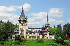 Peleș Castle, Romania  #castles