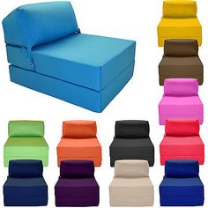 Free Shipping Buy Your Zone Flip Chair Multiple Colors At Walmart