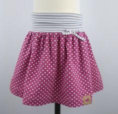 Handmade & Rock für Mädchen Gr.92-98-104, Mädchen Rock aus Jersey,Kleidung für Mädchen, Cute Princess, Baby Sewing, Pink Color, Baby Kids, Girl Outfits, Couture, Skirts, Fabric, Cotton