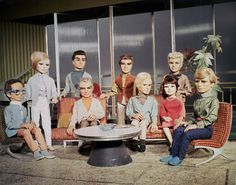 Thunderbirds (1965-68, ITC Entertainment, UK)... I loved this show when I was a kid.... but they are kinda creepy puppets....