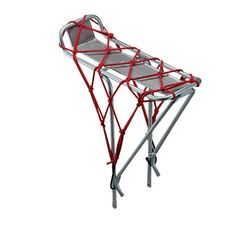 Even better than the bungees I was looking at! TransIt Cargo Net - Bike Packs / Bike Racks
