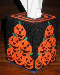 Mini Pumpkins Tissue Box Holder