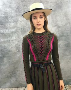 Colours, proportions and design elements work together to create a vision of the Temperley woman for Autumn 18. Discover the Ida Knit Flared Dress by Alice Temperley.