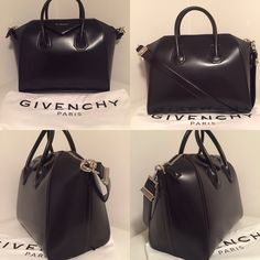Sold Givenchy Antigona new small 🚨no Trades🚨 Small small small small NOT medium ! This low price free on shipping Dust bag is black no trades please selling only text for lower price 708-374-0534 silver hardware no trades selling for great price 🚨 I will not hold it first come first serve taking low offers for immediate payment ! Please be sure this is what you want and know your bags .. Sales are final items are 100% authentic guaranteed and new ! Givenchy Bags Totes