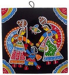 Naughty Bal Krishna Madhubani Art, Madhubani Painting, Peacock Embroidery Designs, Buddha Lotus, Coaster Art, Bal Krishna, Drawing Lessons For Kids, Buddha Painting, Kolam Designs