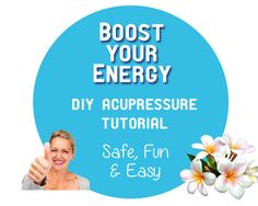 Boost Your Energy • DIY Acupressure Tutorial • Learn how to boost your energy with a simple technique you can use anytime, anywhere: acupressure