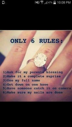 AMEN (the last is not so necessary BUT IF YOU PROPOSE WITHOUT MY MOM TAKING PICS YOU GONNA GET WHOOPED BOI) XD