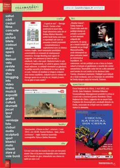 Pagina de recomandari - Revista de liceu Teen Press - Omleta de Primavara http://www.teenpress.ro/articole/revista-teen-press-nr-54-omleta-de-primavara/