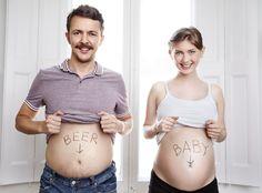 18 witzige Ideen, wie Du Deine Schwangerschaft verkünden kannst | Manche Paare…