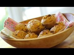 """Beth's Morning Glory """"Power Muffins"""" - YouTube"""