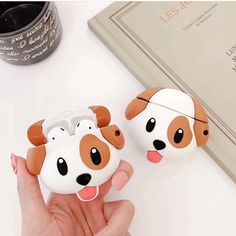 Cute cartoon puppy Case for Apple Cute Ipod Cases, Iphone Cases, Gadgets, Organize Phone Apps, Cute Friendship Bracelets, Kid Toy Storage, Earphone Case, Airpod Case, In Case Of Emergency