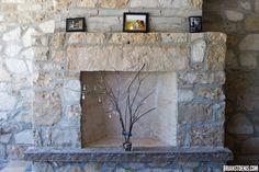 Fireplace Decor @ Cambridge Mill