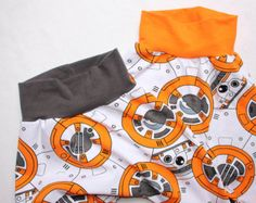 Star Wars BB8 Harem Pants 0 to 24 months 2T 3T 4 5 6 Baby Star Wars Outfit Toddler Star Wars Costume BB8 droid Baby Star Wars costume
