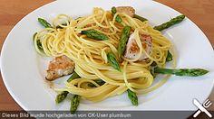 Spaghetti mit grünem Spargel und Putenbrustfilet, ein schmackhaftes Rezept aus der Kategorie Geflügel. Bewertungen: 13. Durchschnitt: Ø 3,9.