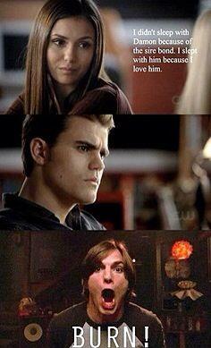 The Vampire Diaries! Haha