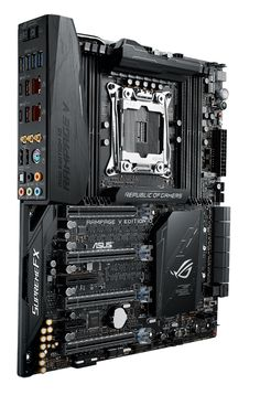ASUS ROG Rampage V Edition 10 EATX extreme-gaming board outshines the competition with best-in-class overclocking, Aura RGB lighting and flawless Hi-Fi audio.