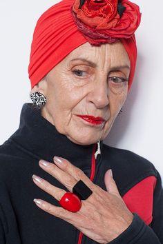 75-year-old campaigner Bridget Sojourner #fabulousfashionistas