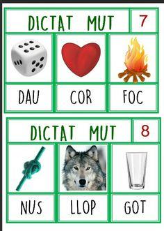 1 SIL.LABA Catalan Language, Math Numbers, Valencia, Vocabulary, Teaching, Writing, School, Teaching Supplies, Activities