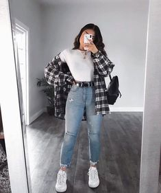 Trendy Fall Outfits, Cute Comfy Outfits, Basic Outfits, Winter Fashion Outfits, Retro Outfits, Stylish Outfits, Summer Outfits, Uni Outfits, Vintage Outfits
