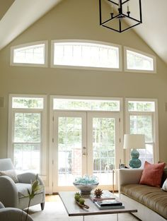 I miss our old house and its big windows! House of Turquoise: Kara Cox Interiors