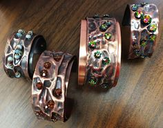 only some elements I would use. fold forming, etc. Copper Cuff, Copper Bracelet, Metal Bracelets, Copper Jewelry, Handmade Bracelets, Handcrafted Jewelry, Custom Jewelry, Jewelry Art, Copper Color