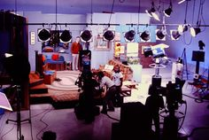 THE SET OF MISTER ROGERS' TELEVISION HOUSE