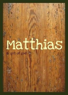 Baby boy name nathaniel meaning gift of god given by god baby boy name matthias muh thy us meaning gift of god negle Gallery