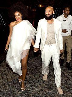Wardrobe Change Photo - Solange Knowles and Alan Ferguson's Wedding Album - Us Weekly