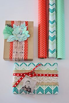 New Wrap It UP craft paper rolls from Hazel & Ruby! Head to the blog for more and giveaway.