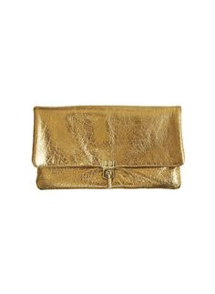 Lanvin Gold Clutch - Outfit 422