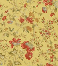 Home Decor Print Fabric-Waverly Lavaliere/Gingersnap