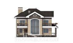 200-006-П Проект двухэтажного дома, красивый домик из кирпича