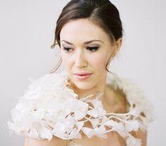 Blossom shrug, £595.00 #wedding #bridal #accessories #vintage #bride www.hopeandgrace.co.uk Wedding Shrug, Wedding Kiss, Wedding Blog Uk, Bridal Cover Up, Berta Bridal, Bride Look, Bridal Accessories, Wedding Stationery, Elegant Wedding