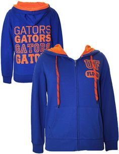 Product: University of Florida Gators Women's Full-Zip Hooded Sweatshirt