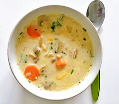 Soup Recipes, Diet Recipes, Vegetarian Recipes, Healthy Recipes, Healthy Life, Healthy Eating, B Food, Low Calorie Recipes, No Cook Meals