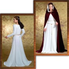 sewing a cape | Butterick 4377 Medieval Dress Pattern Free Cord 6 12 | eBay