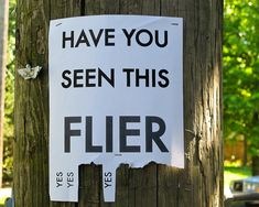 Lost! Witty write up for this list post on funny fliers. If found, please contact me at BuzzFeed. Take a tab.