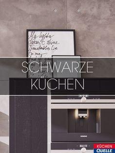 Dann Ist Eine Küche In Schwarz Genau Richtig Für Sie! Mit Ihr Setzen Sie  Trends Und Schaffen Ein Außergewöhnliches, ...