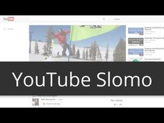 Slow motion on your YouTube videos - YouTube Tips & Tricks > Zeitlupe auf Ihre YouTube-Videos
