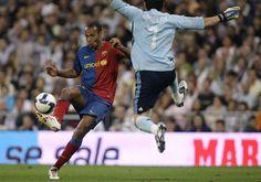 Henry vs Casillas in Barcelona vs Madrid