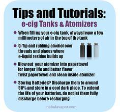 tanks & atomizer tips