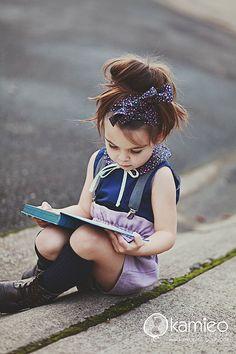 love this little girl's hair!