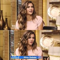 Nina on 'Live With Kelly and Michael