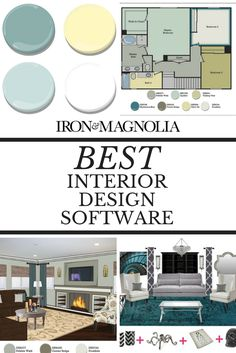 Need a software to create floor plans, mood boards, color palettes & renderings? Check this out.