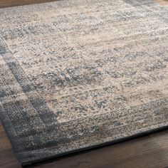Indigo Ink and Sand Vintage Allure Rug