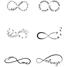 Tattify 'Infinity Moods' Temporary Tattoos ($15) ❤ liked on Polyvore featuring jewelry, tattoos, fillers, no color, tattoo jewelry, infinity jewelry and braid jewelry
