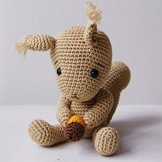 1000+ images about Crochet Squirrels on Pinterest ...