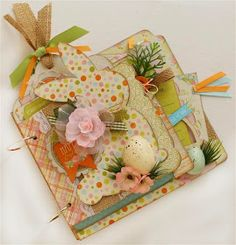Authentique Paper: Paisleys and Polka Dots Easter Kits & A Giveaway!