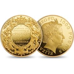 Royal Christening 2013 UK Gold Proof Kilo Coin £50,000.00      The first coin commemorating a Royal christening ...
